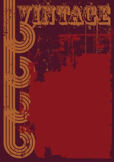 Free Red And Brown Grunge Vintage Background Royalty Free Stock Image - 30116546