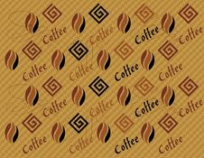 Free Abstract Coffee Pattern Background Stock Images - 30118534