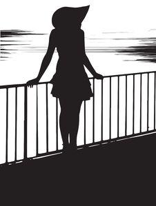 Free Girl At The Sea Royalty Free Stock Image - 30119196