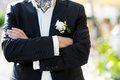 Free Groom With Boutonniere Stock Photo - 30127250