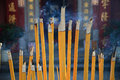 Free Buddhist Prayer Joss Sticks Royalty Free Stock Image - 30129456