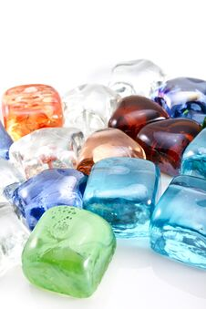 Free Glass Stones Background Royalty Free Stock Photography - 30120257