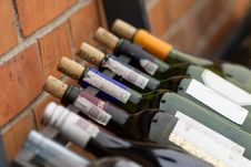 Free Wine On The Shelves Royalty Free Stock Image - 30120966