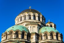 Free Close Up Of St. Alexander Nevski Orthodox Cathedral Royalty Free Stock Photos - 30121328
