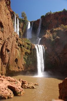 Free Cascade D'Ouzoud, Waterfall, Morocco Stock Photo - 30122260