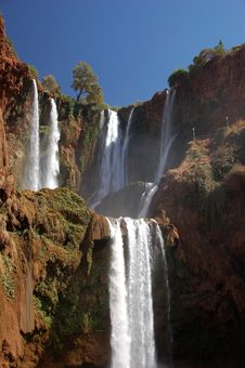 Free Cascade D'Ouzoud, Waterfall, Morocco Stock Images - 30122304