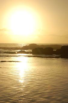 Free Sunset By Essaouira Stock Photography - 30123372