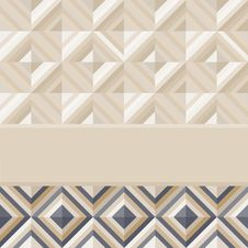 Fashion Pattern With Square Diamonds Royalty Free Stock Image