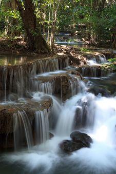 Free Beautiful Waterfall In Kanchanaburi Royalty Free Stock Photos - 30128358