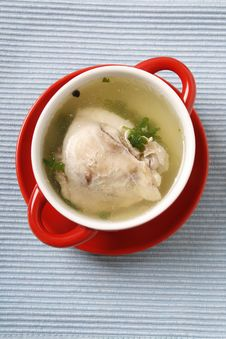 Free Chicken Soup Stock Photo - 30128510
