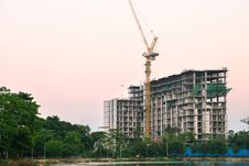 Free Construction Site Royalty Free Stock Photography - 30129497