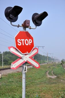 The Sign Of A Stop. Stock Images
