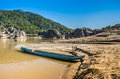 Free Longtail Boat On Mekong River, Laos Stock Photos - 30137963