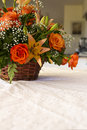 Free Bouquet Of Flowers On Table Royalty Free Stock Photos - 30139618