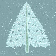 Free Grunge Christmas Tree No. 4 Royalty Free Stock Photos - 30133428