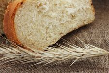 Free Bread And Wheat Ears Royalty Free Stock Photo - 30133535