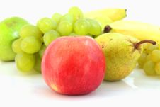 Free Fruit On A White Background Stock Images - 30133624