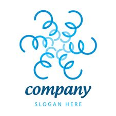 Free Logo Blue Plants Royalty Free Stock Image - 30139056