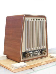 Retro Radio Receiver Stock Photos