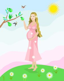 Free Pregnant Woman Stock Photos - 30140893
