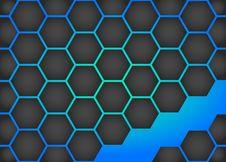 Free Honeycomb Background Royalty Free Stock Image - 30141916