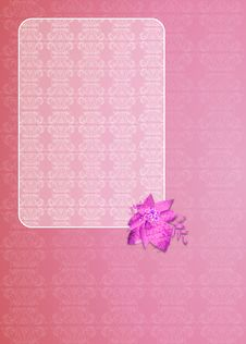 Free Floral Greeting Card Royalty Free Stock Photos - 30141958
