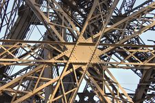 Free Detail Eiffel Tower Perspective Stock Photos - 30144953