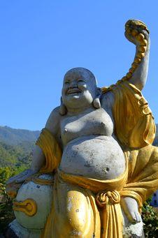 Free Maitreya Buddha Royalty Free Stock Photos - 30148138