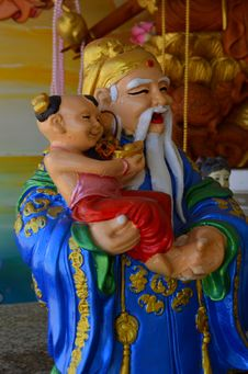 Free Chinese Gods Royalty Free Stock Photos - 30148328