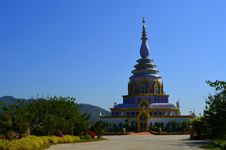 Free View Of Wat Thaton In Thailand Royalty Free Stock Photography - 30148397