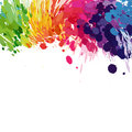 Free Abstract Background Of Colored Splashes Royalty Free Stock Photos - 30152318