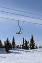 Free Chairlift In The Mountains Royalty Free Stock Photo - 30152385