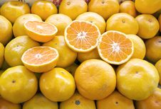 Free Fresh Mandarin Stock Photography - 30151542