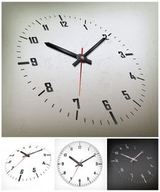 Free Round Dial On Gray Stock Images - 30152384