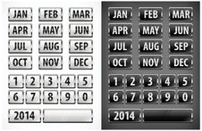 Free Calendar Grid Stock Photo - 30152420