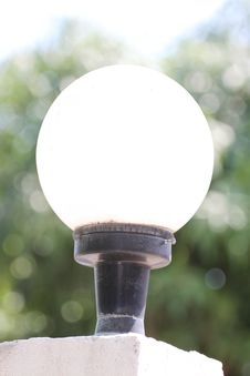 Free A Circular Lamp. Stock Photography - 30153752