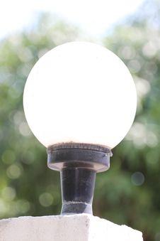 Free A Circular Lamp. Stock Photography - 30153752