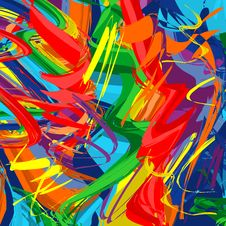 Free Abstract Raibow Colorful Vector Line Background Stock Photo - 30154090