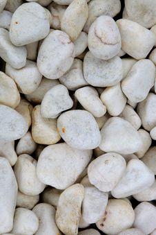 Free White Pebbles Royalty Free Stock Photos - 30159088