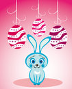 Free Easter Rabbit And Eggs Royalty Free Stock Images - 30160409