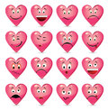 Free Set Of Batch From 16 Emotion Smiles Stock Photos - 30167293