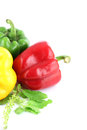 Free A Bell Peppers Three Colors. Stock Photos - 30168823