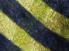 Free Blue And Yellow Shards Royalty Free Stock Photo - 30160355