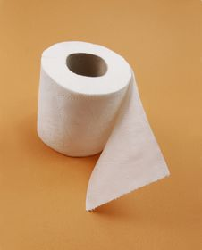 Free Toilet Paper. Royalty Free Stock Photography - 30160627