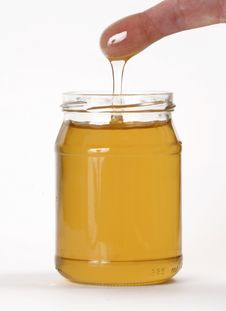 Honey Pot. Stock Photography