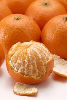 Free Peeled Mandarin. Royalty Free Stock Images - 30160839