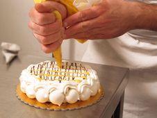 Free Preparing Cake. Stock Photography - 30160882