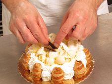Free Preparing Cake. Stock Photography - 30160922