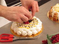 Free Preparing Cake. Royalty Free Stock Photo - 30160935