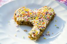 Free Bread With Sprinkles Royalty Free Stock Photo - 30162655